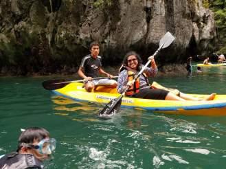 palawan kayak philippines aim