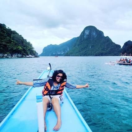 palawan travel boating