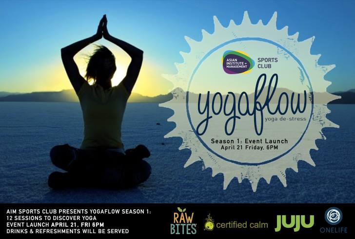 yoga event launch