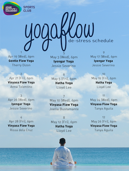 yogaflow schedule