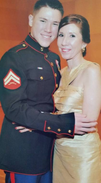 Julian with his beautiful mom