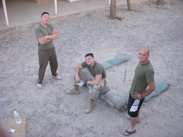 Just another day in the marines